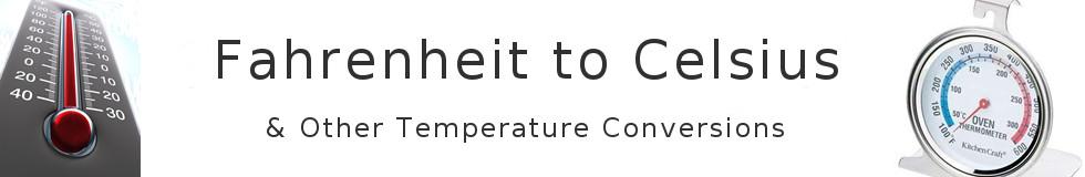 Fahrenheit To Celsius Temperature Conversion Chart (101°F to 260°F)